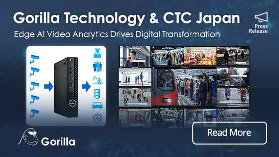 CTC to Deliver Digital Transformation with Gorilla Edge AI